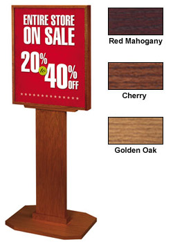 "22"" x 28"" poster stand"