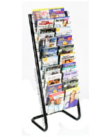 paper display rack