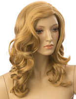 Long Haired Female Blonde Wig