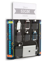 Multi Device Charging Kiosk for Indoor Use