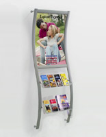 24 x 36 Poster Frame leaflet display