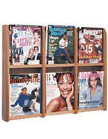 magazine brochure holder