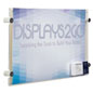 "Horizontal 17"" x 11"" Sign Holder with Calling Card Pocket"