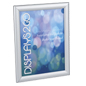 8.5 x 11 Silver Snap Sign Frame with Wall Mount Hardware