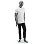 Metallic Gray Male Mannequin