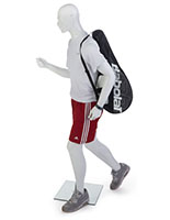 Male Sports Mannequin with Running Pose