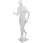 Male Sports Mannequin with Calf Rod