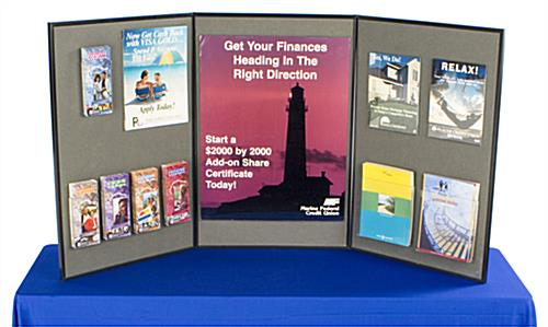 Tradeshow Table Boards Folding Presentation Tool With