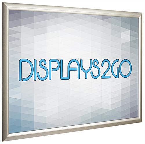 27x40 Poster Frames | Polystyrene Profile with Silver Finish