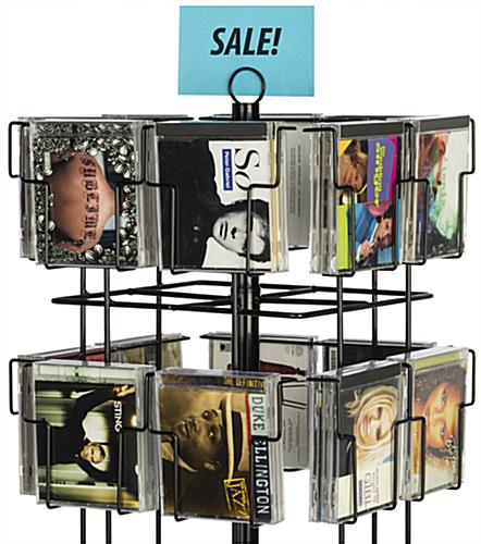 6 Tiered Spinner Display Rack