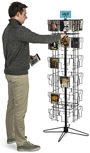 Spinner Display Rack, Steel Wire