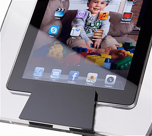 Black base with Adjustable iPad Air Stand