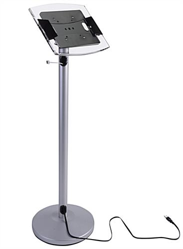 ipad floor stand silver ipad floor stand - Ipad Floor Stand