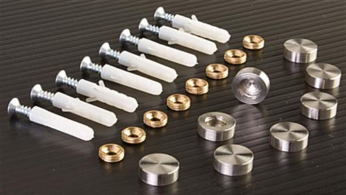 Screw Cover Sells In Sets Of (8) For Mounting (2) Signs