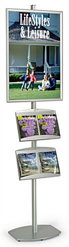 "Exhibition Stand with 24"" x 36"" Poster Frame"