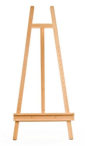 portable canvas easel | beech wood construction