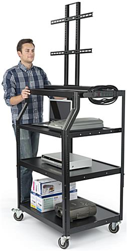Moveable LCD Cart