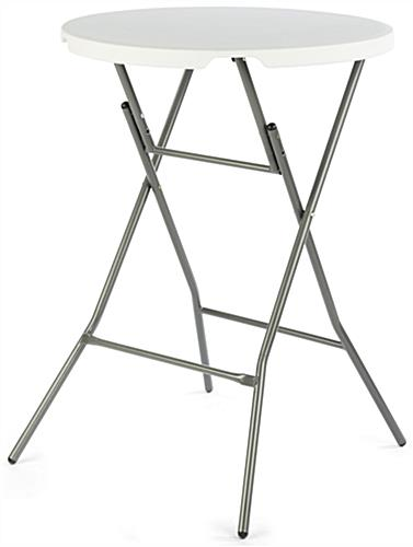 Folding Bar Table With White Top ...
