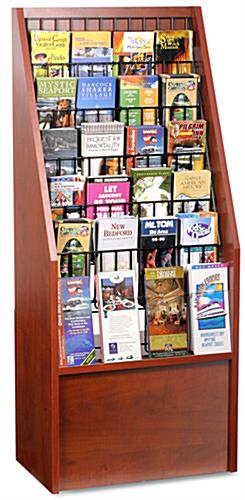 Leaflet Display With 12 or 24 Pockets