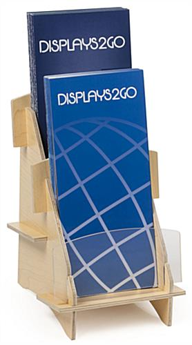 Plywood Collapsible Leaflet Holder