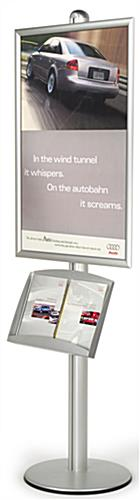 "FORTE Brochure Sign Stand: 24"" x 36"""
