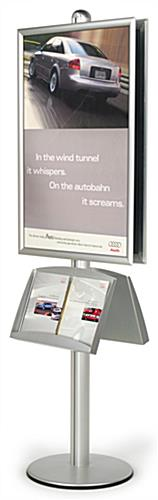 poster brochure stand