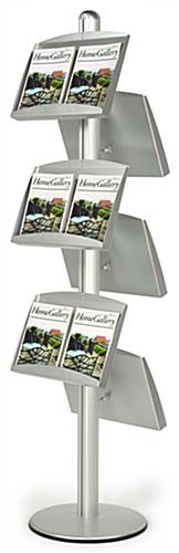 Double-sided Literature Stand