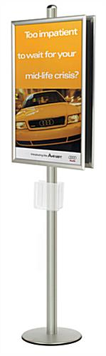 24x36 sign stand display