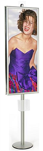 large poster stand