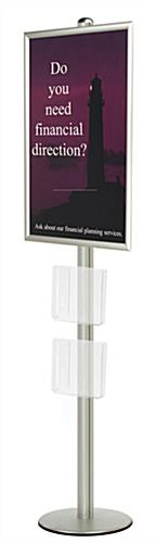 24x36 poster frame stand