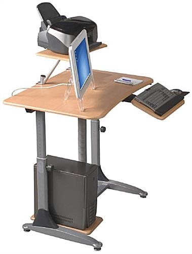 Customizable Adjustable Height Standing Desk