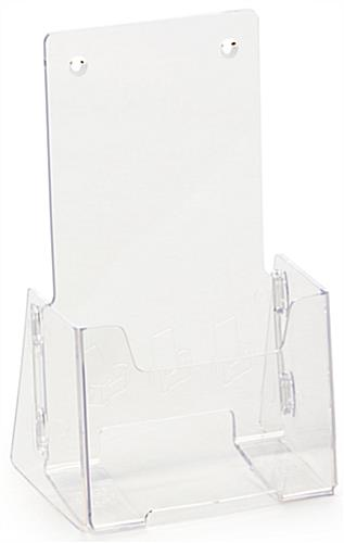 Cheap Brochure Holder with High Backing