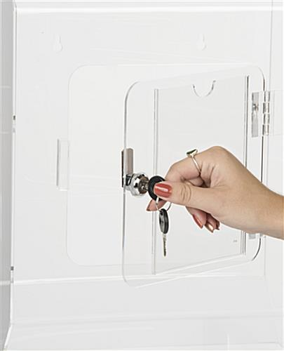 Locking Wall Mounted Suggestion Box