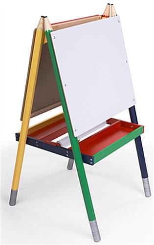 This Easel For Kids Engages Small Children In Creative