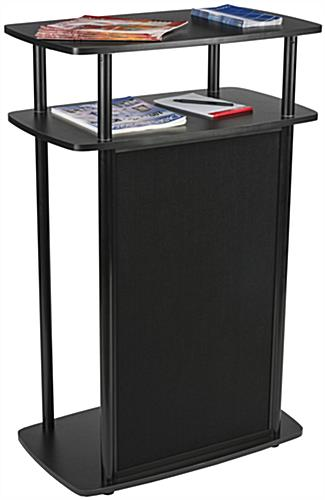 Exhibit Counter With Hook and Loop, PVC Panel