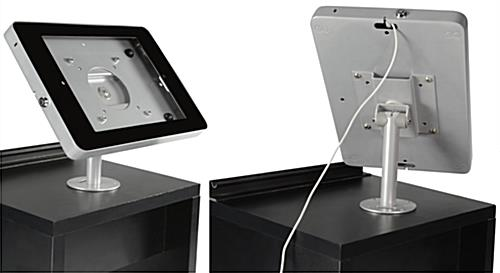 Pop Up Counter with Silver iPad Holder