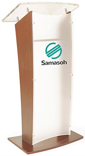 Maple Verneer Customized Public Speaking Lectern