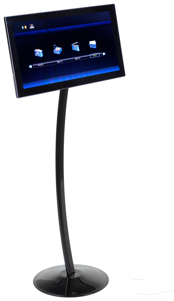 Digital Picture Floor Stand Electronic Photo Display