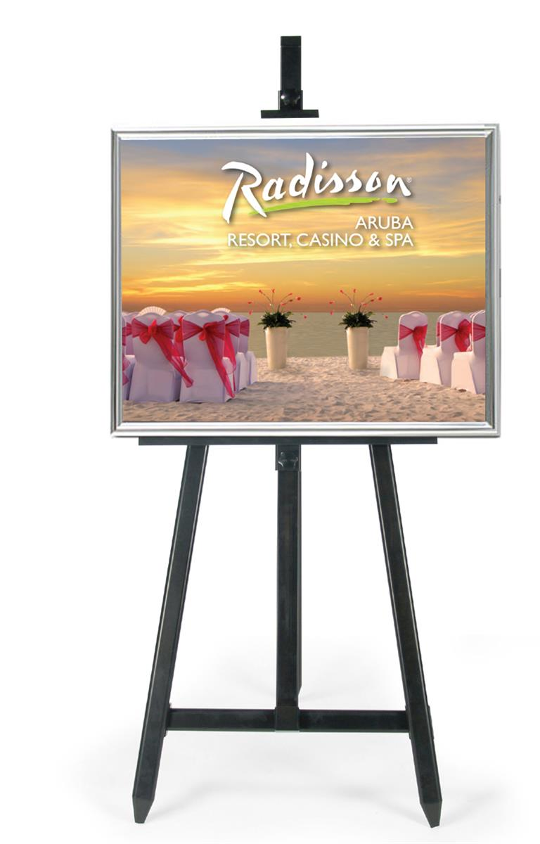 These poster frames with easels are ergonomically designed - Porta poster amazon ...