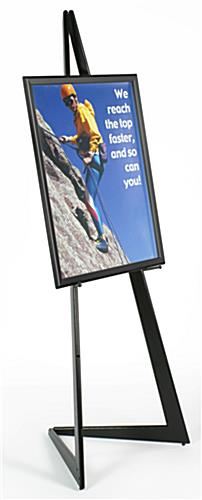 "Art Display Easel with 22"" x 28"" Frame"