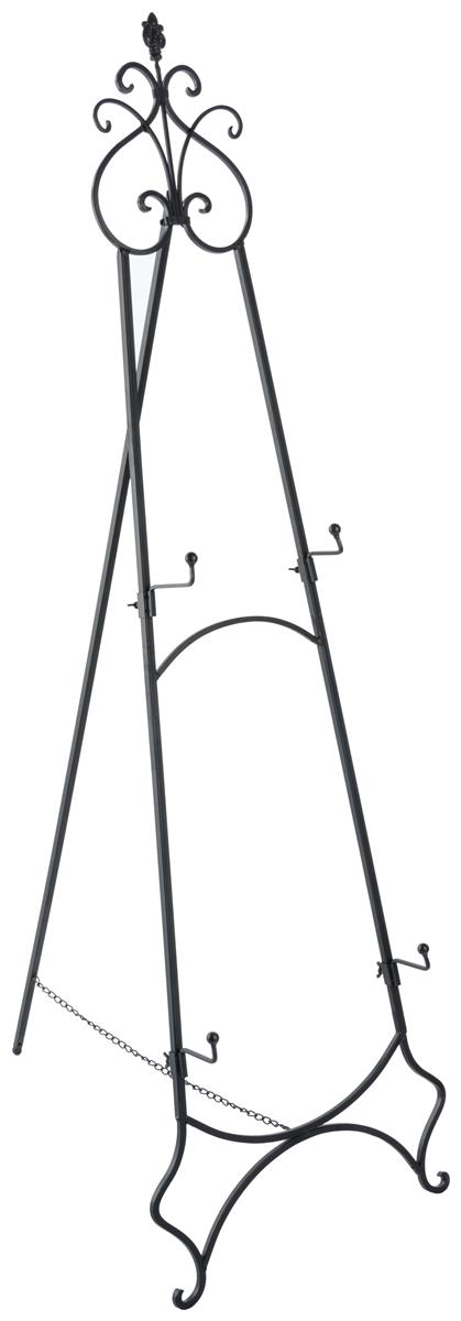 Iron Art Stand Wrought Iron Easel W Hooks