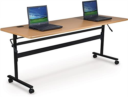 Teak Flipper Training Table, Holds Up To 300 lbs