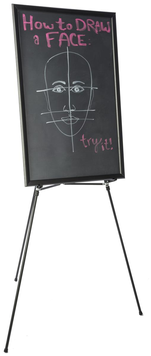 Wet erase board easel combo markerboard with display stand - Porta poster amazon ...
