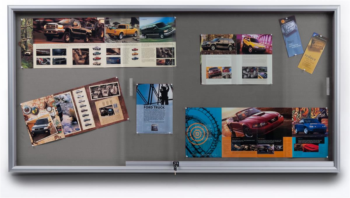 These Fabric Corkboards Are Great For Photo Exhibits Or