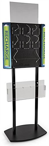 Floor Standing Commercial Cell Phone Charging Station