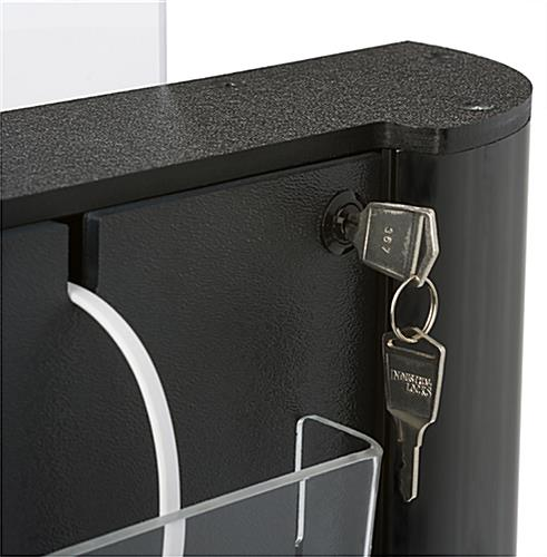 Lockable Commercial Cell Phone Charging Station