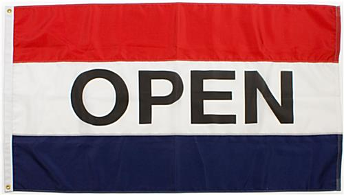 Open Flag With 3 Colors