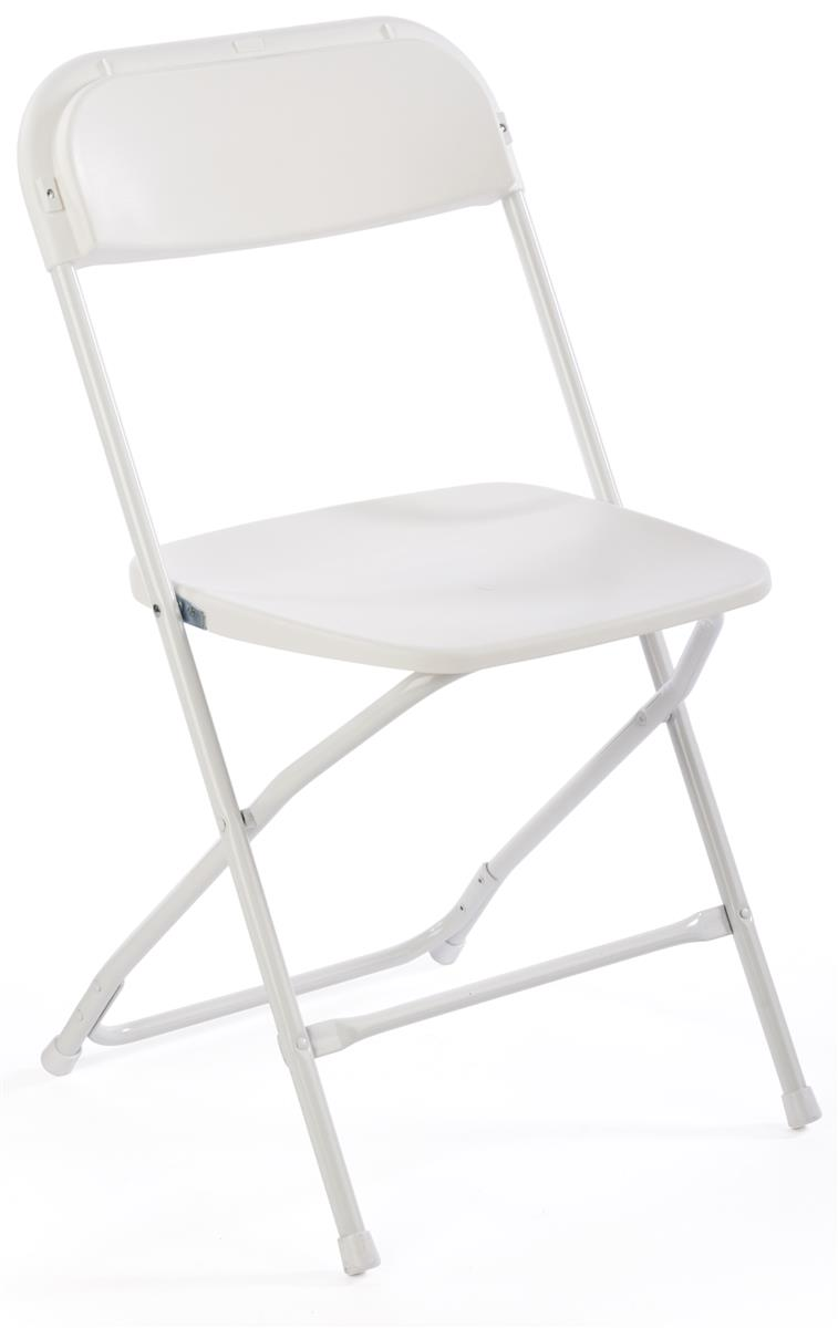 White plastic folding chairs - White Plastic Folding Chairs 45