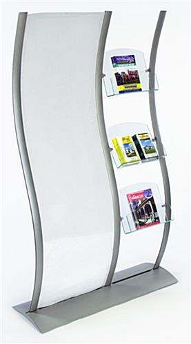 "Magazine Holder with 24"" x 77"" Poster Frame"