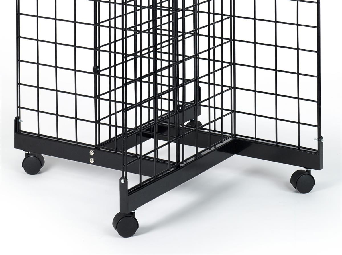 This Gridwall Base Saves Sales Floor Space Pinwheel